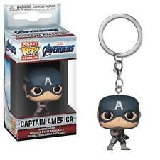 Captain America Avengers Endgame Pocket Pop Keychain Marvel Funko Pop Keyring
