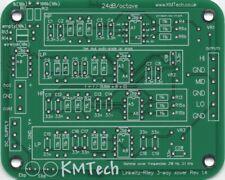 LR Mono 3-way Filtro Activo Por KMTech PCB hágalo usted mismo balanceado/no balanceado v1.4 de entrada