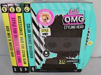 L.O.L. Surprise! O.M.G. Styling Head Royal Bee 30 Surprises! New
