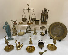 Collection Of Brass Animals & Ornaments (D3)