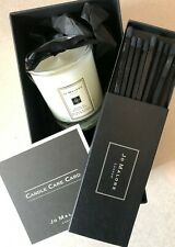 NEW Jo Malone Peony & Blush Suede Travel Candle and Matches