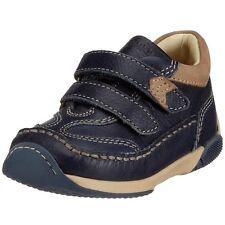 "Primigi Boys Loafers Leather "" Blake "" Blue [ sz. 20] NIP"