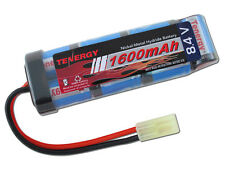 Tenergy 8.4V NiMH 1600mAh Mini Flat (Brick) AIRSOFT BATTERY for AEG Gun Rifle