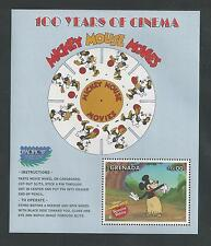 GRENADA #2700 MNH DISNEY, MICKEY MOUSE MOVIES 100 YEARS OF CINEMA Souvenir Sheet