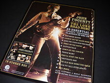 JOHN FOGERTY Striking 2005 PROMO POSTER AD The Long Road Home mint condition