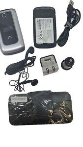 ZTE Cymbal Z233V Z-233V Verizon GSM WCDMA LTE 3G GPS Flip Big Keys Complete
