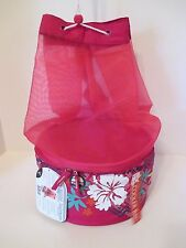 NWT IGLOO MAXCOLD 2 Sections Leak Resistant Insulated Cooler Tote~Pink Floral~5L