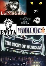 THE STORY OF MUSICALS - 3 HOUR/PART BBC DOCUMENTARY DVD london west end theatre