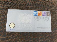 1999 ROYAL MINT £1 One Pound Scottish Rampant Lion Numismatic Coin Cover PNC ***