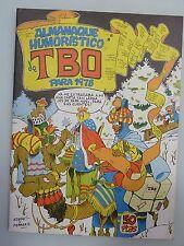 ALMANAQUE HUMORÍSTICO DE TBO PARA 1978