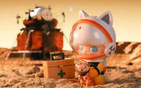 POP MART x DIMOO WORLD Space Travel Kitty Space Boy Mini Figure Designer Toy