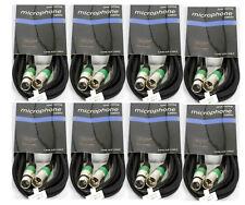 8 Stück 5m XLR Audiokabel symetrisches Mikrofonkabel XLR Kabel auch für DMX