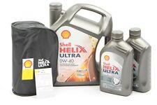 SHELL Motoröl Helix Ultra 0W40 7 Liter inkl. Öltasche/-anhänger VW 502.00/505.00