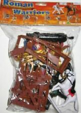 ROMAN TOY SOLDIERS Armor Bagged Playset 8 Painted Figures 2 Horses Catapult 1/32