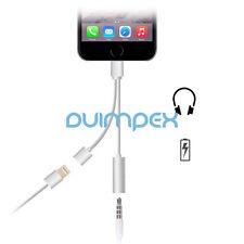 P55 13cm Foudre Câble Adaptateur 3,5mm Casque audio+Recharge iPhone 7 7 Plus