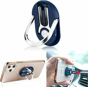 Universal 360 Finger Ring Cell Phone Stand  Air Vent Car Holder Mount