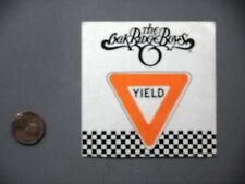 Oak Ridge Boys backstage pass satin cloth sticker Authentic - Yield