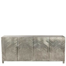 Handmade Antique White Metal  Sideboard Buffets