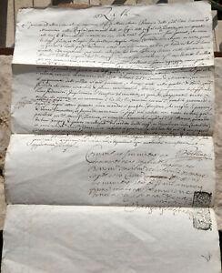 1718 Manoscritto Testamento Gibellino Quarona Vc Vescovo Chenemix Minervino Bari