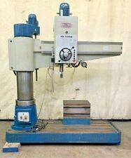 """BAILEIGH RADIAL ARM DRILL RD-1600H ,220 VOLT ,30 AMP ,3 PHASE ,63"""" COLUMN"""