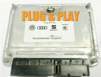 VW BEETLE 1.8T AWV ECU PLUG & PLAY IMMO OFF ORIGINAL 06A906032PR / 0261208217