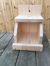 Economy version Robin Cardinal Dove Nesting Box Nesting Ledge Nesting Shelve