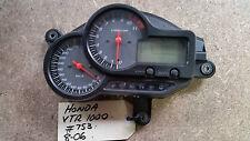 Honda VTR1000 2006 Instrument Cluster, Gauges, Speedo, Thaco, Dash