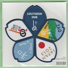 2015 world scout jamboree Japan / Scout Shop official SOUTHERN HUB patch badge