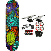 "Deathwish Skateboard Complete Williams Spew 3 Tiwn 8.125"" x 31.5"""