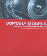 2008 Harley Davidson SOFTAIL SOFT TAILS MODELS Parts Catalog Manual Brand New