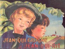 Jean-qui-grogne et Jean-qui-rit/Illustrations de Jacqueline Guyot/Feuillage/1958