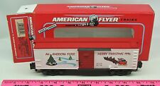 American Flyer ~ 6-48321 American Flyer Christmas boxcar