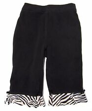 GYMBOREE Toddler Girl's Pants Black Size 12-18 Months Animal Print Pattern NWOT