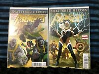 Marvel: The Avengers - Shattered Heroes #20, #21 (Comic Books, 2012)