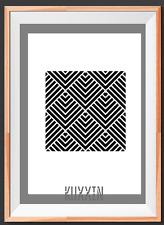 Geometric Pattern Tile  A4 Mylar Reusable Stencil Airbrush Painting Art Craft