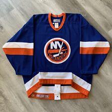 Authentic New York Islanders 48 CCM Jersey Vintage 90s