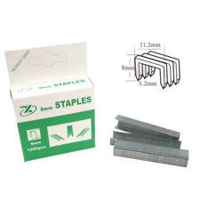1000pcs/Box 8mm Alloy Nail Staples For Three-Purpose Manual Staple Machine Gun