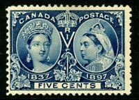 Canada 1897 Jubilee 5¢ Scott # 54 Mint W698