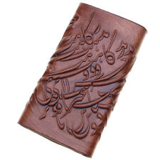 Genuine Leather Persian Parsi Farsi Poetry Wallet Cardholder Keychain Gift Art
