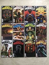 DC Comics Mister Miracle #1-12 1st Print Cover A Signed King & Gerards