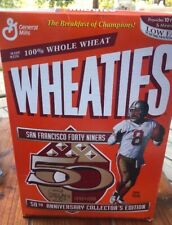 WHEATIES STARTING LINEUP BOX Cereal Vintage~STEVE YOUNG SF 49ERS