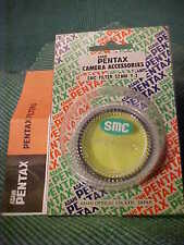 Asahi Pentax 52 mm SMC Yellow filter (Y-2) Brand-New in Pentax packing