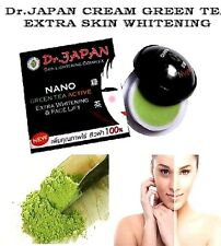 6 x Dr Japan Cream Nano Green Tea Active Whitening Amp Face Lift Extra Skin