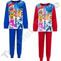 Super Wings Schlafanzug für Junge Kinder Pyjama