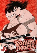 Dragon Ball Dragonball Z YAOI Doujinshi Comic Goku x Vegeta Rolling Hearts
