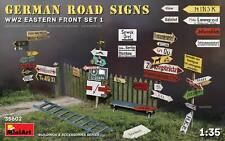 German Road Signs (Eastern Front Set 1) WWII 1/35 MiniArt  35602