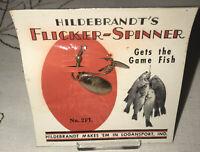 Rare Vintage Hildebrandt Flicker-Spinner No. 2FL Fishing Lure Mint