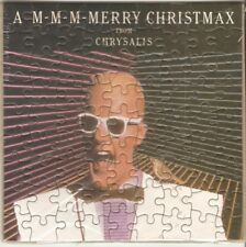 MAX HEADROOM Very Rare Chrysalis Records Promo Christmas Jigsaw Puzzle MINT