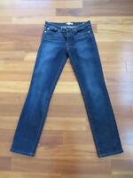 TORY BURCH Super Skinny Jeans Low Rise Stretch Dark Wash Totally EUC!