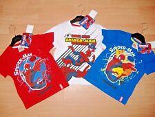 Boys Marvel Spiderman T Shirts 3 Colours Available En1168 8 Yrs Blue